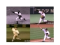 サチェル・ペイジ、上原浩治、江川卓、リベラ フォーム4画面